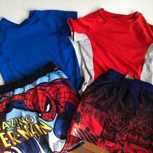 Other - Boys Spider-Man Swim Bundle